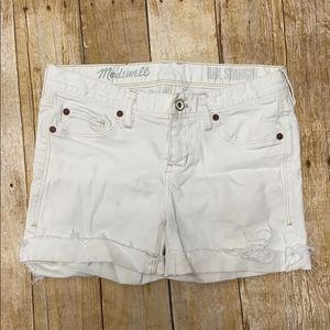 Madewell Women's Shorts Size 27 Rail Straight Used
